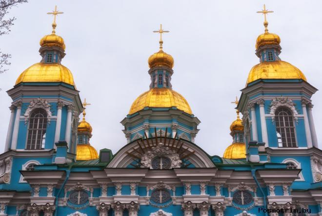 Архитектура Никольского Морского собора Санкт-Петербурга