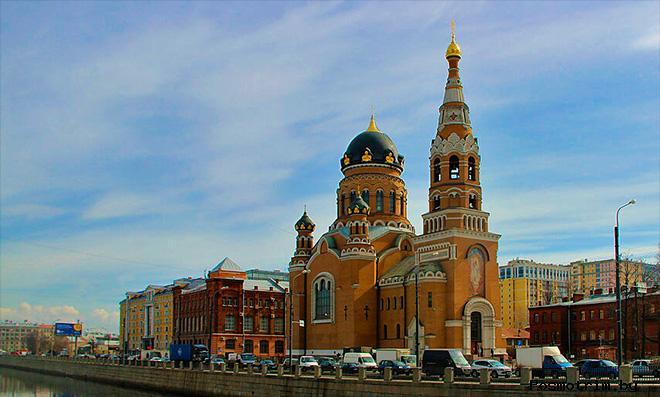 Храм Воскресения Христова Петербург Обводной канал