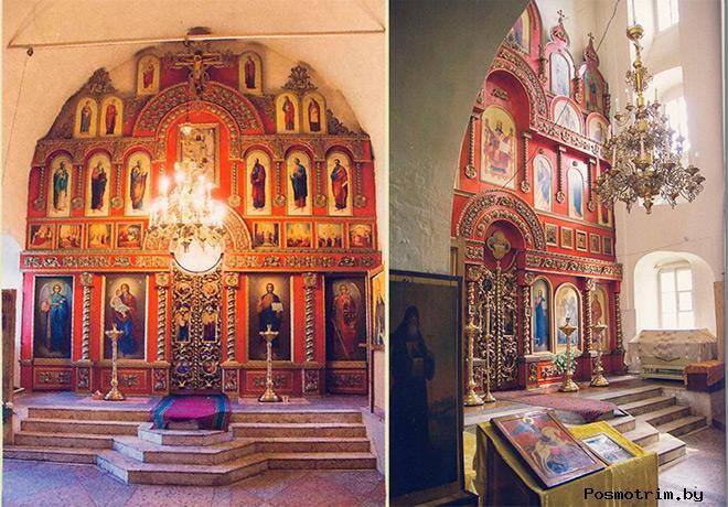 Георгиевская церковь Касимова внутри