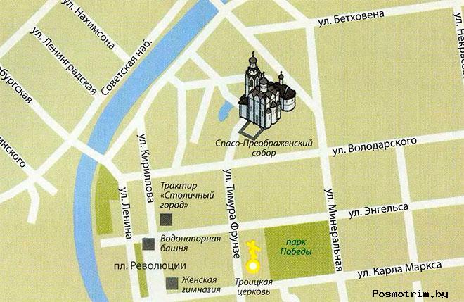 Сторорусский Преображенский собор график работы контакты расположение на карте как добраться самостоятельно
