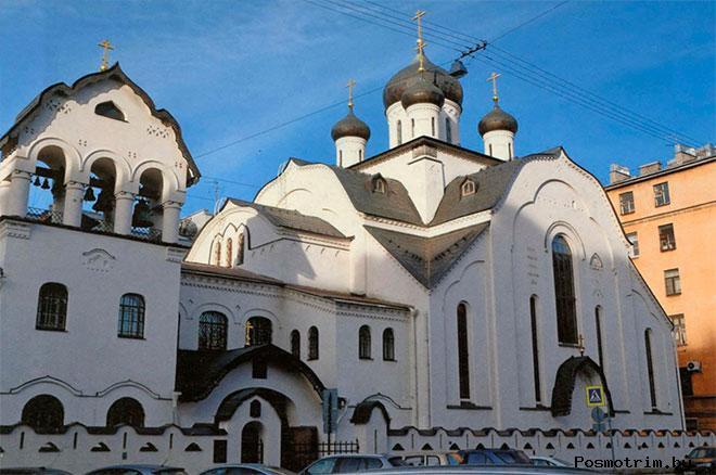 Старообрядческая Знаменская церковь в Санкт-Петербурге