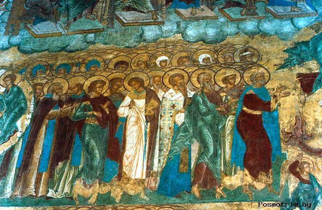 Фрески Успенского собора Княгинина монастыря Владимира