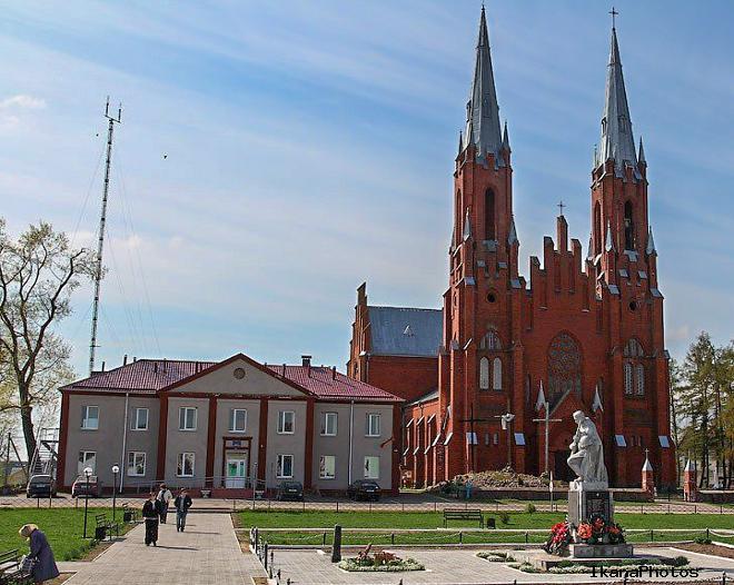 Архитектура Костёла Рождества Девы Марии