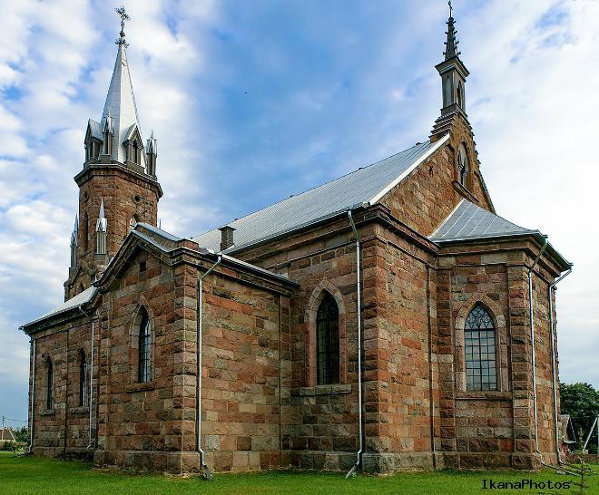 Костел Святого Казимира Липнишки фото история описание храма в Липнишках