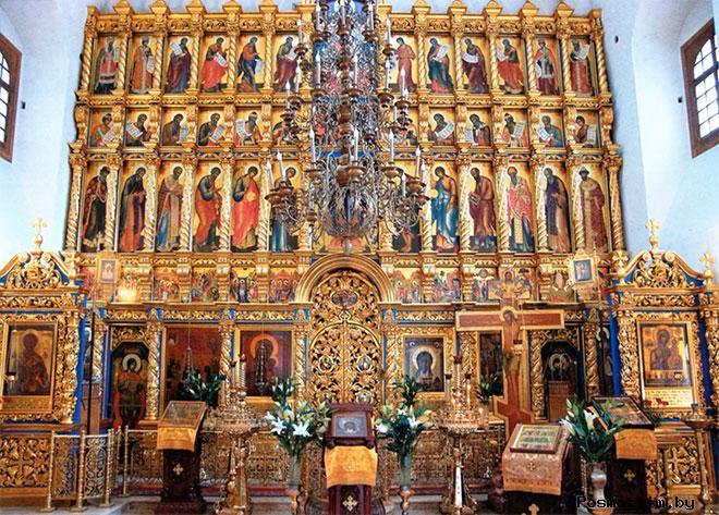 Внутри Храма Благовещения Павловской Слободы