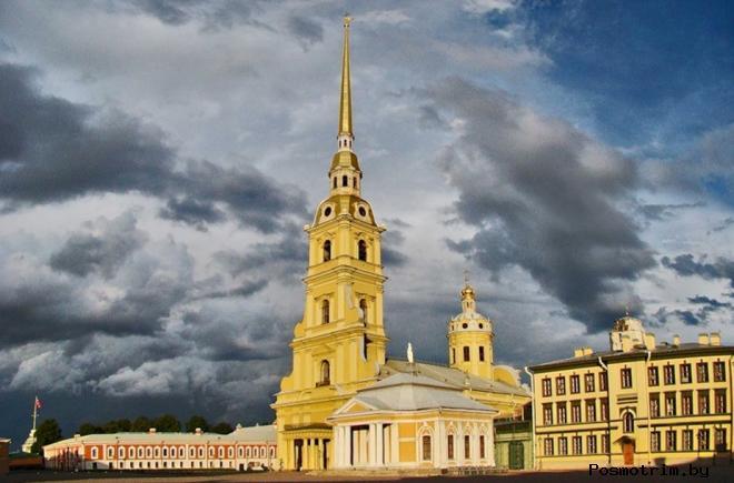 Освящение Петропавловского собора