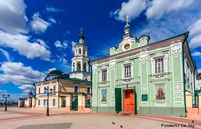 Строительство Никольского собора Казани