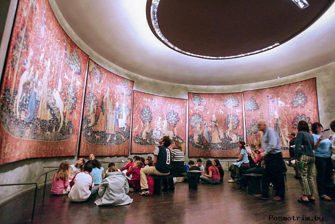 Первый этаж Национального музея Средневековья