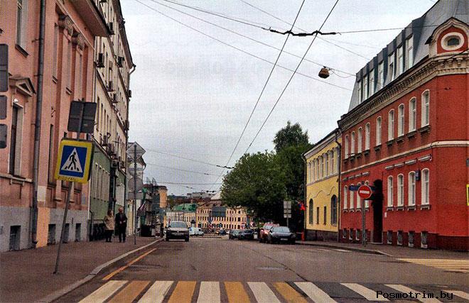 Улица Александра Солженицына (Большая Алексеевская)