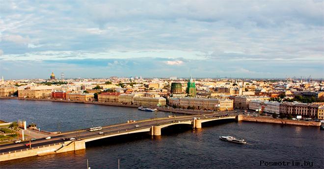 Тучков мост в Санкт-Петербурге