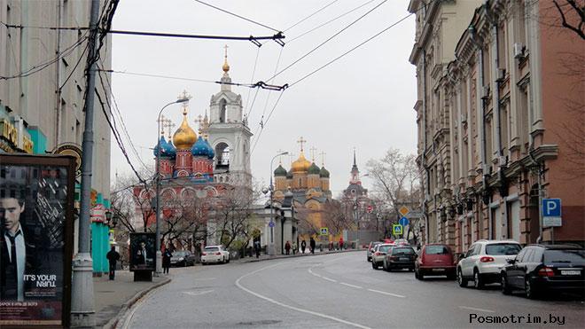 Улица Варварка Москва