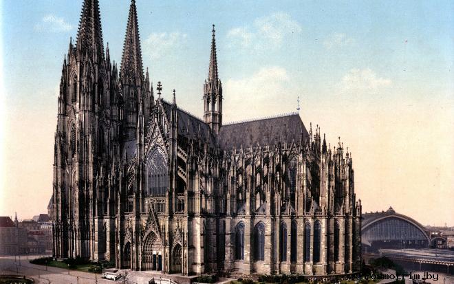 Кёльнский Собор Германия фото Кафедрального собора в Кёльне