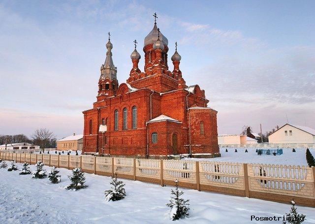 Покровская церковь в деревне Мильковщина Гродненского района