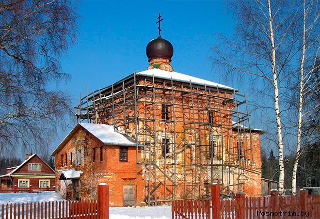 Казанский храм в Полевщине