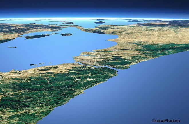 Пролив Босфор на карте мира - Пролив между Черным и Мраморным морями - пролив между Европой и Азией