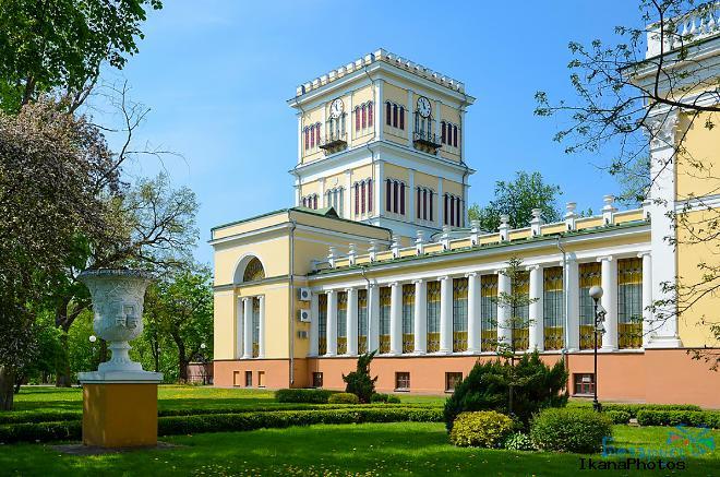 Дворец Румянцевых-Паскевичей сегодня