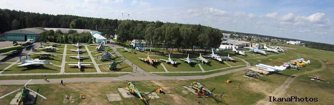Экспозиции музея авиационной техники в Боровой