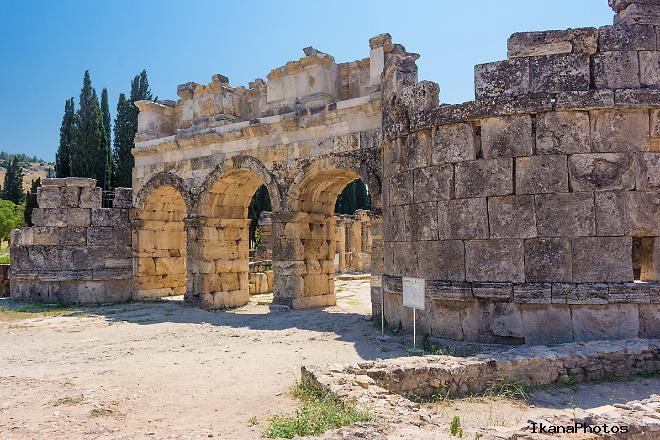Иераполис (Хиераполис) Турция входные ворота в город - Арка Домициана