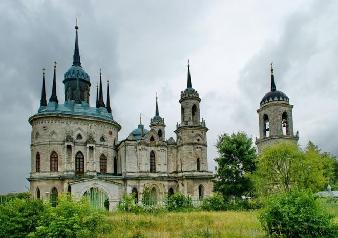 Архитектура церкви Владимирской иконы Божией Матери в Быково