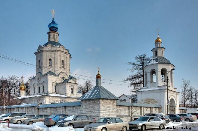 Строительство Успенского храма в Видном
