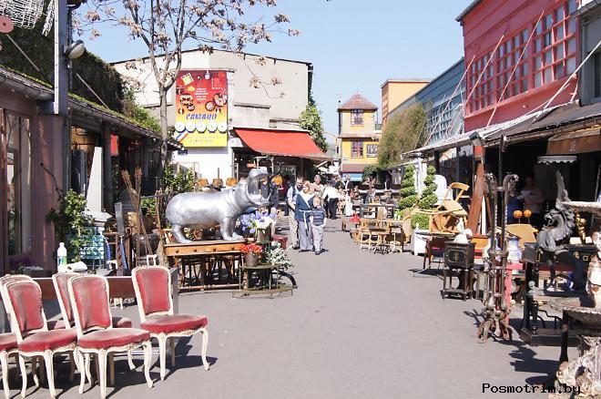 Блошиный рынок Сент-Уан история