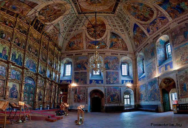 Интерьер Преображенского собораУглича