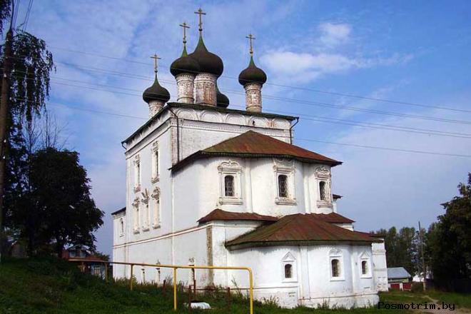 Гороховец Воскресенская церковь