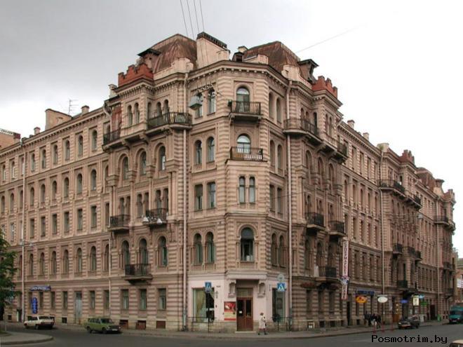 Дом Мурузи на литейном 24 Санкт-Петербург