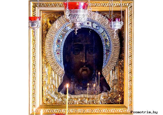 Образ Спаса Нерукотворного в Троицком соборе Саратова