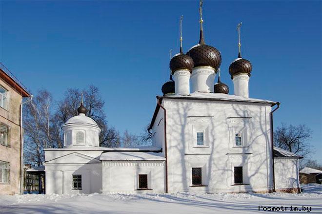 Казанская церковь Рыбинск
