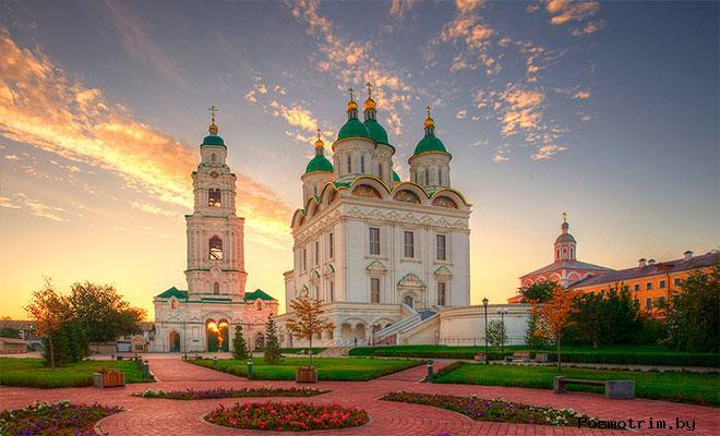 История Успенского собора в Астрахани