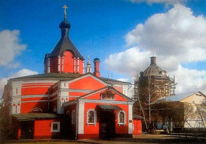 Николо-Боголюбский храм Красногорск
