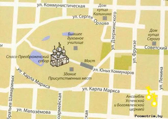 Спасо-Преображенский собор в Белозерске как добраться контакты расположение на карте