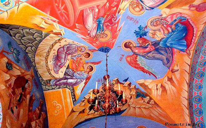 Интерьер Успенского собора Астрахани