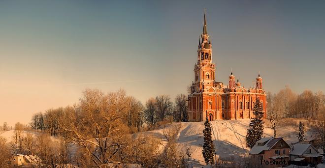 Можайский кремль фото история кремля в Можайске
