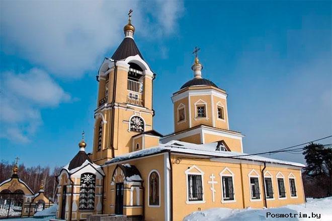 Троицкий храм Москва пос. Мосрентген