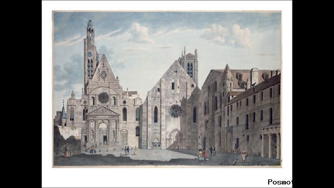 История церкви Сент-Этьенн-дю-Мон