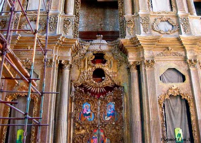 Интерьер Успенского собора Тулы