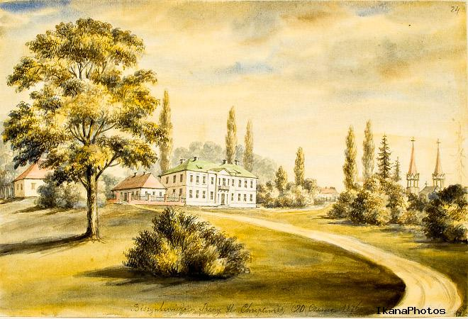 Дворец Хрептовичей Бешенковичи фото история