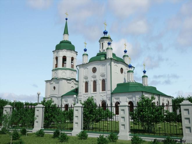 Троицкий собор Красноярска