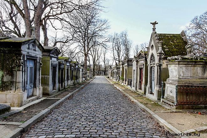 История кладбища Пер-Лашез