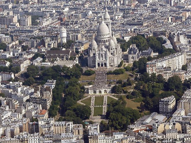 Базилика Сакре-Кер достопримечательность Парижа