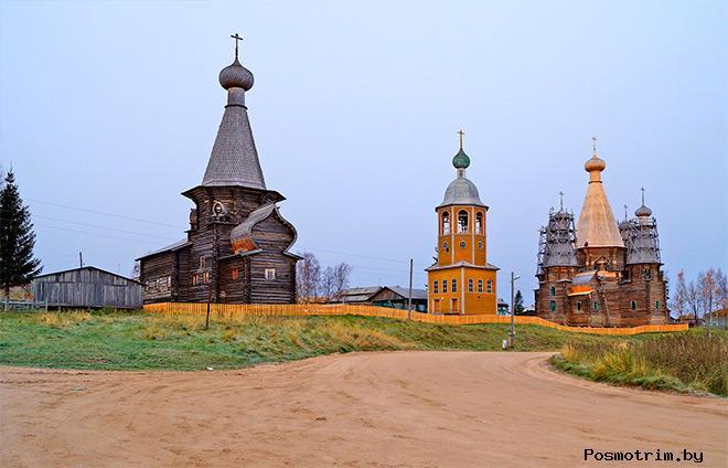 Храмовый комплекс в селе Нёнокса