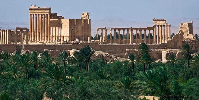 Город, затерянный в пустыне (Пальмира)