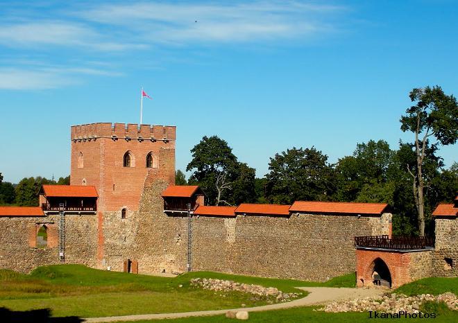 Замок в Мядининкай или замок в Медниках