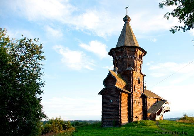 Архитектура Успенской церкви в Кандопоге