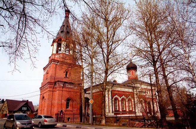 Алексиевский храм в Горбуново