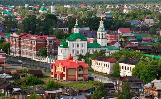 Верхний город Тобольска