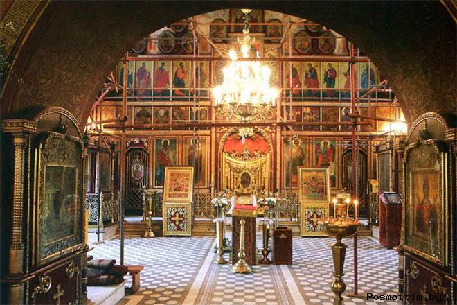 Храм в Тропареве внутреннее убранство