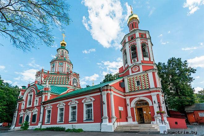Архитектура храма Иоанна Воина в Москве